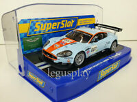 "Slot car Scalextric Superslot H2960 Aston Martin DBR9 ""GULF 007"""