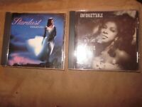 Lot of 2 1990's CD's NATALIE COLE: Unforgettable, Stardust (41 tracks total)