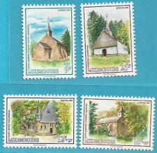 Luxemburg aus 1989 ** postfrisch MiNr.1232-1235 - Kapellen: Caritas!   TOP!!!