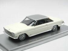 CADILLAC JACQUELINE PININFARINA HT COUPE WHITE 1961 KESS KE43020031 1/43 RESINE