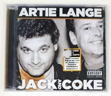 Artie Lange CD - Jack and Coke - Comedy Album - Shout! Factory - 2009