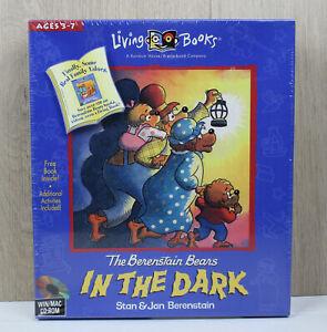 The Berenstain Bears In the Dark PC Big Box CD Living Books Windows Macintosh