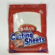 Saran Disposable Cutting Sheets 20 Sheets Discontinued