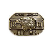 """Orig. Harley-Davidson Gürtelschnalle, Buckle """"VINTAGE EAGLE"""" Gold *97776-17VM*"""