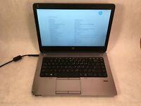 "HP ProBook 645 G1 14"" Laptop AMD A8-5550M 2.1GHz - BIOS LOCKED - READ"