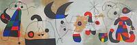 Joan Miro for DLM No. 36-38, Sur Quatre Murs (On Four Walls) 1951 Galerie Maeght