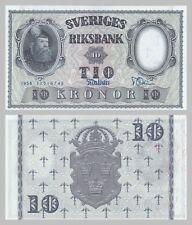 Schweden / Sweden 10 Kronor 1958 p43f unc
