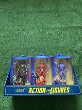 "NECA Defenders of the Earth 7"" PHANTOM FLASH GORDON MING 3 Figure Lot Fast Ship"