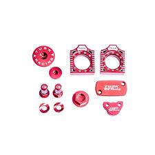 Tusk Billet Bling Kit RED HONDA CRF250R CRF450R