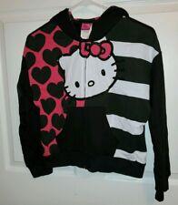 Hello Kitty Girls Jacket Large 14/16 Sanrio Zipper Front Hood Style EUC
