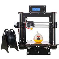 2016 DIY 3D Drucker Verbesserte Voll Qualität High Precision Reprap Prusa i3