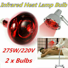 Infrared Heat Lamp Beauty Bulb 275W Therapy Health Pain Relief Therapeutic Lamp