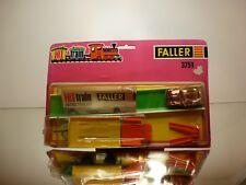 FALLER 3751 HIT TRAIN + HIT CAR VOLKSWAGEN BEETLE UNOPENED IN CARD-BLISTER RARE