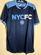 ADIDAS MLS JERSEY NEW YORK CITY FC TEAM BLUE SZ L