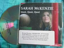 Sarah McKenzie Quoi Quoi Quoi  Impulse Records Promo CDr Single