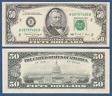 USA 50 Dollars 1990 UNC  P. 488