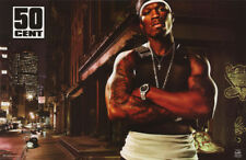 POSTER : MUSIC: RAP :  50 CENT - POSED      FREE SHIPPING !  #6587    RW10 J