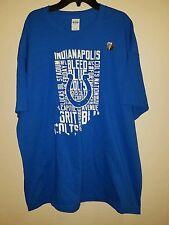 10b048d8 New Mens Indianapolis Colts T Shirt Size XL #FORTHESHOE Blue White