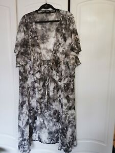 Simply Be Kimono Style Cover Up Size 30