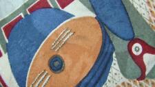 PICASSO MANDOLIN & GUITAR ART TAN SLATEBLUE RED SILK NECKTIE TIE MAU1517A #G33