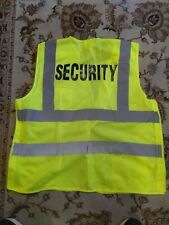 Nos Allied Universal Security Service Reflective Safety Vest Size L