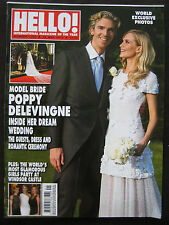 HELLO MAGAZINE LONDON UK ISSUE 1329 MAY 2014 POPPY DELEVINGNE