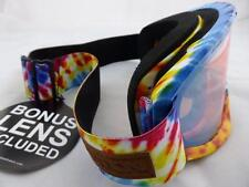 Dragon DX2 Snow Goggles Tie Dye - Gold Ion + Yellow Red Ion Lens 722-5665