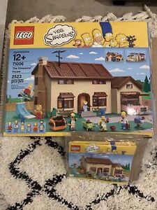 LEGO The Simpsons House Set 71006 Extra Mini Figures Kwik E Mart 7106 Bid