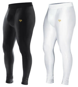 Mens Compression Gym Tights Workout Fitness Athletic Exercise Stretch Pant S-2XL