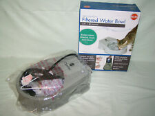 New K&H Pet Products CleanFlow Filtered Cat Water Bowl 80 Ounces/2.3 Liter