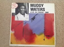 MUDDY WATERS , LIVE IN PARIS , 1968 - FC 121 - GOOD CONDITION 1988