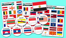 FLAG STICKERS - special makes to your specifications