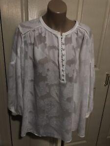 Women's *~*WITCHERY*~* Stunning White Shirt  Top   Size 10