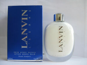 LANVIN L'HOMME by LANVIN 3.4 oz 100 ml AFTER SHAVE BALM FOR MEN NEW IN BOX