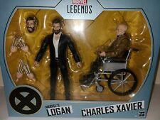 Marvel Legends Series Logan and Charles Xavier Hasbro PulseCon 2020 Exclusive