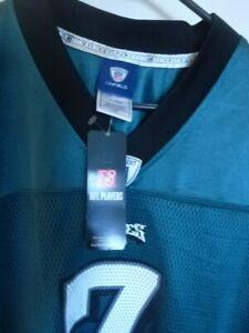 Michael Vick AUTHENTIC ON FIELD NFL Philadelphia  #7 Reebok Jersey Size Large NW