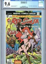 Red Sonja #1 CGC SS 9.6 WHITE pages! 1977