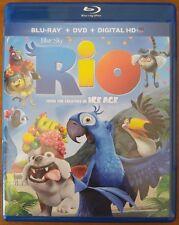 Rio (Blu-ray and DVD, 2011) Carlos Saldanha - No Digital