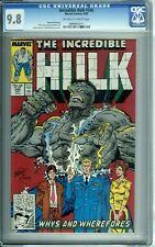 INCREDIBLE HULK 346 CGC 9.8 TODD McFARLANE COVER Marvel Comics 1988