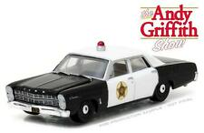GREENLIGHT 44760 B 1967 FORD CUSTOM POLICE ANDY GRIFFITH SHOW DIECAST CAR 1:64