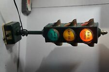 Vintage Bar Stop Light, B&B Traffic Signal, 1960's JAPAN  OPEN LAST CALL CLOSED