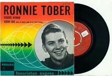 "RONNIE TOBER Iedere Avond (1965 Favorieten Expres PS VINYL SINGLE 7"""