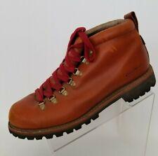 Eddie Bauer Mens K-6 Series Ankle Boots Paprika Leather Waterproof Vibram Sz 13