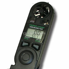 Anemometer Temperature Humidity Windspeed Windchill Weather Meter 1 yr warranty