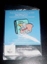 2006 DUMBO Retd Cast Pin Disney WDW United Way Gr8t Gift Goody Party Bag