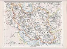 1931 MAPPA ~ PERSIA ~ Khorasan farsistan KERMAN yezd azerbijan