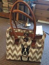 D' ORCIA Purse NWT BOSTON TERRIER EXC Cond!!