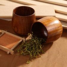 Eegantes Handgemachte Holz aus bewaldet Cup Frühstück Bier Milch Tee Becher