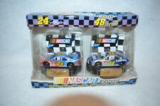 NASCAR COLLECTIBLE ORNAMENT SET NEW 2002  # 24 JEFF GORDON  AND #48 JIMMY JOHNS