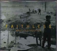 Faithless-Mass Destruction cd maxi single